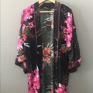 FOREVER 21 Open Front Kimono